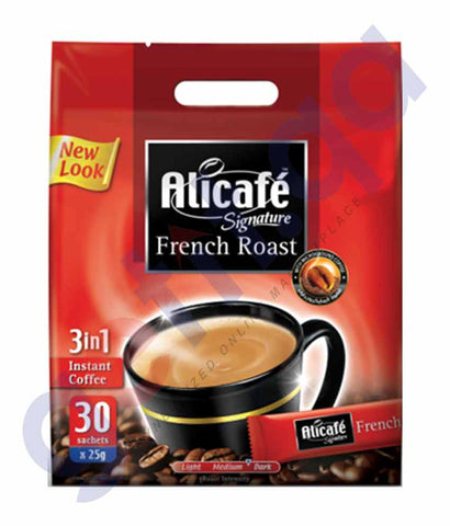 ALICAFE SIGNATURE FRENCH ROAST 3 IN 1 25GM X 30 SACHETS