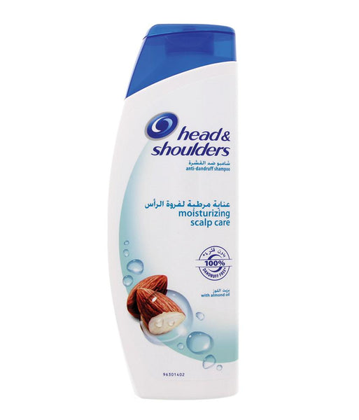 SHAMPOO - Head & Shoulders Anti-Dandruff Shampoo Moisturising Scalp Care With Almond Oil 400ml