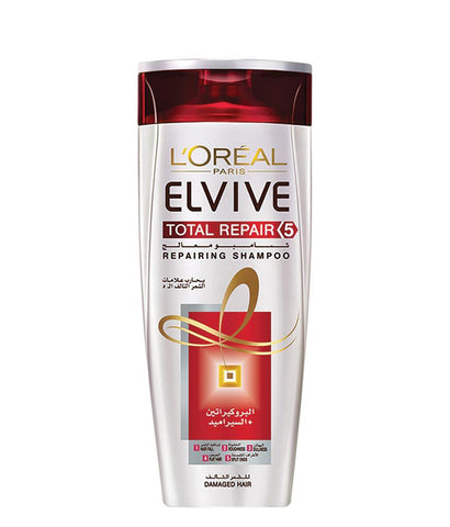 SHAMPOO - L'oreal Elvive Damage Hair Total Repair Shampoo 400ml