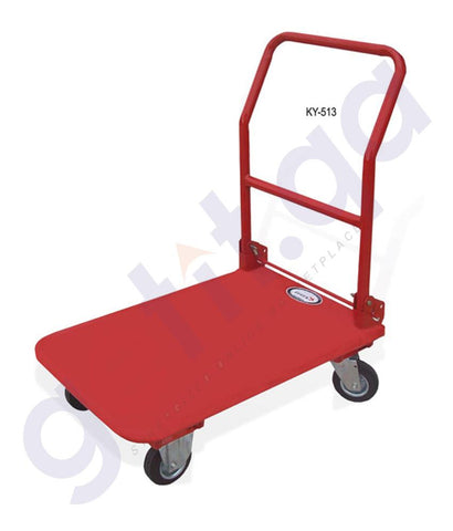 Shovel - KANAT 4 WHEEL HEAVY DUTY TROLLEY – 300KG – KY-513