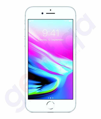 Smart Phones - APPLE IPHONE 8, 2GB RAM , 64 GB, 4G LTE, SILVER