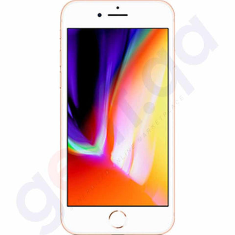 Smart Phones - APPLE IPHONE 8, 2GB RAM , 64GB, 4G LTE, GOLD