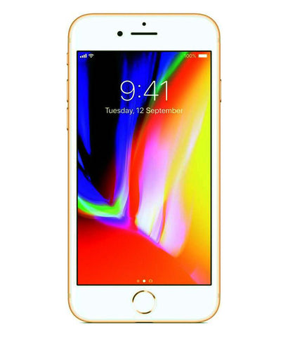 Smart Phones - APPLE IPHONE 8 PLUS, 3GB RAM , 64GB, 4G LTE, GOLD