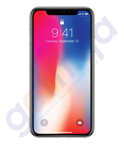 Smart Phones - APPLE IPHONE X- 3GB RAM, 256GB, 4G LTE, GREY