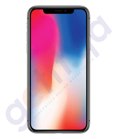 Smart Phones - Apple IPhone X – 3GB RAM, 64GB, 4G LTE, Space Grey