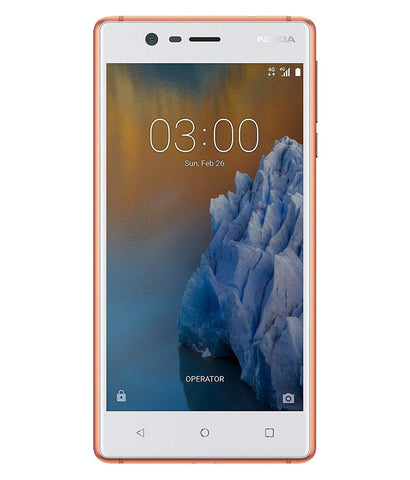 Smart Phones - NOKIA 3 DUAL SIM , 2GB RAM ,16GB , 4G LTE , COPPER WHITE