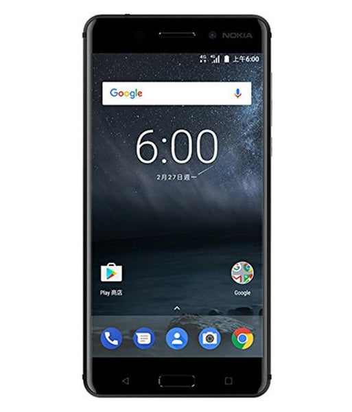 Smart Phones - NOKIA 6 DUAL SIM , 3GB RAM, 32GB, 4G LTE , ARTE BLACK