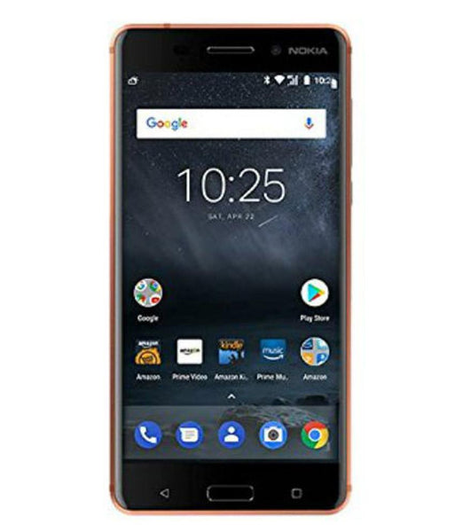 Smart Phones - NOKIA 6 DUAL SIM , 3GB RAM , 32GB , 4G LTE , COPPER