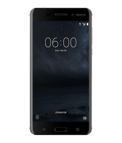 Smart Phones - NOKIA 6 DUAL SIM , 3GB RAM , 32GB, 4G LTE , MATTE BLACK