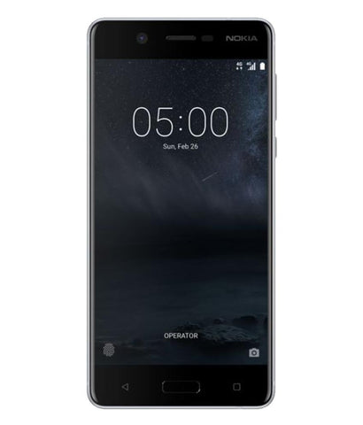 Smart Phones - NOKIA 6 DUAL SIM , 3GB RAM , 32GB , 4G LTE , SILVER