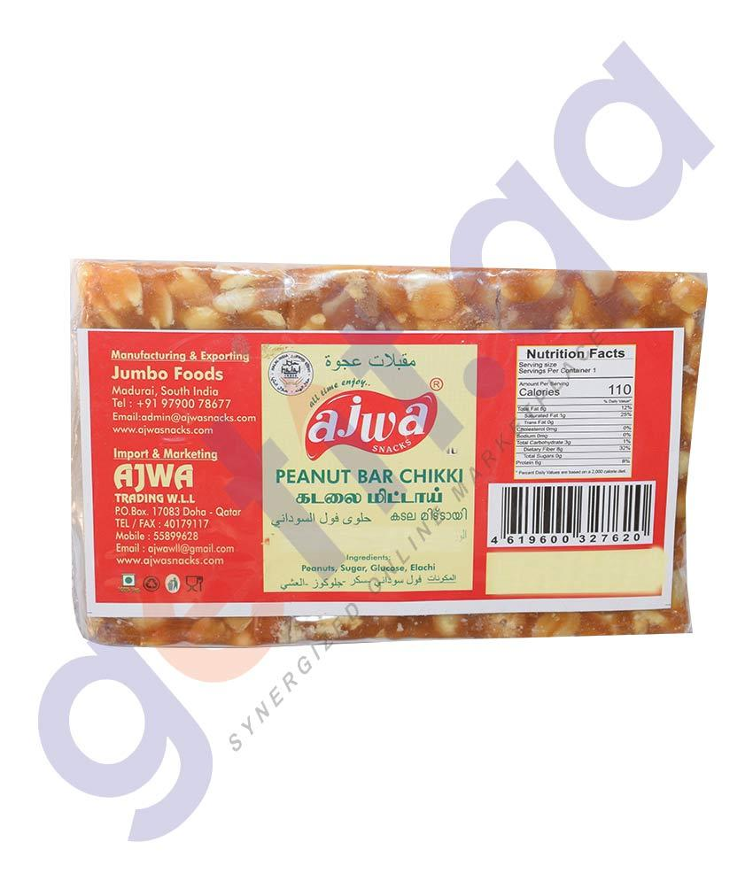 CHIKKY BAR 100 GM BY AJWA