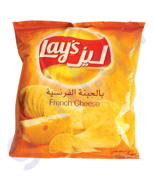 SNACKS - LAYS CHIPS FRENCH CHEESE