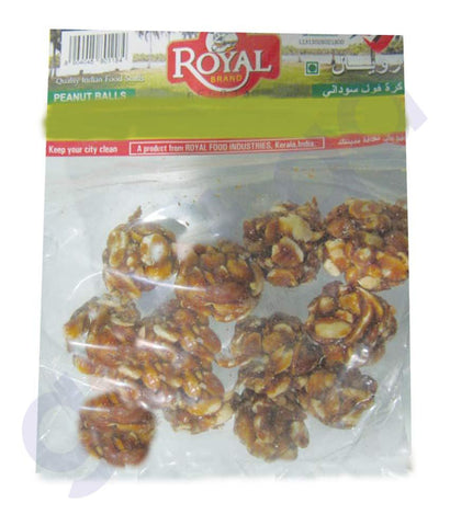SNACKS - PEANUT BALL  125GMS BY ROYAL