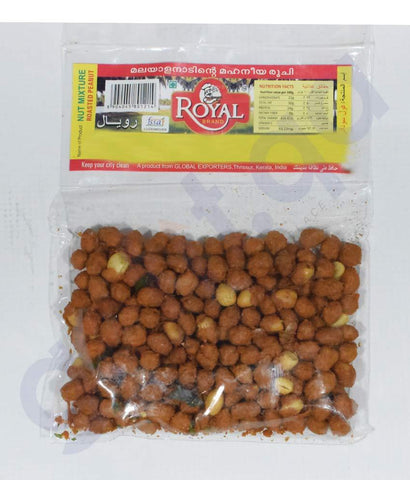 SNACKS - PEANUT ROAST  125GMS BY ROYAL