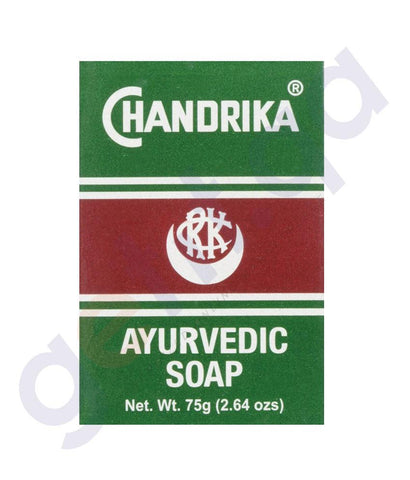 SOAP - CHANDRIKA AYURVEDIC SOAP - 75GM
