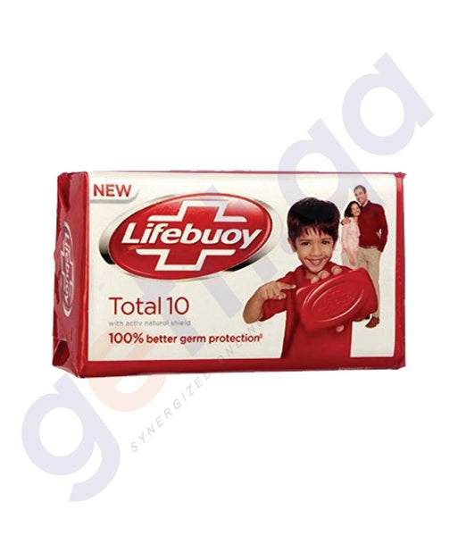 SOAP - LIFEBOY SOAP TOTAL 10 WITH  ACTIVES - 160GM
