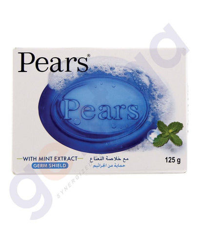 SOAP - PEARS SOAP WITH MINT EXTRACT BLUE - 125GM