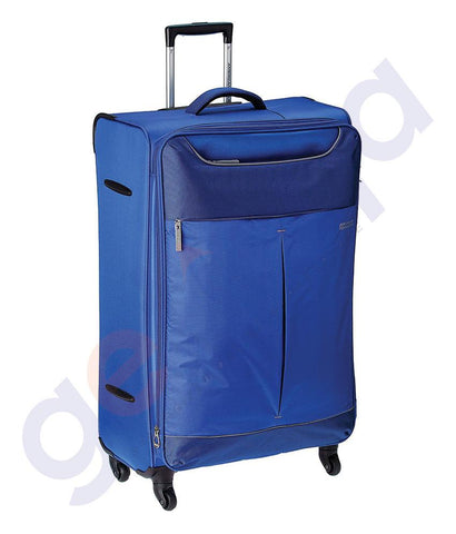 SOFT TROLLEYS - AMERICAN TOURISTER APPLITE SPINNER SOFT 82CM BLUE - 82R 51 003