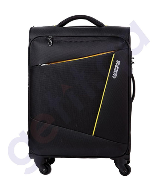 SOFT TROLLEYS - AMERICAN TOURISTER WESTFIELD BLACK