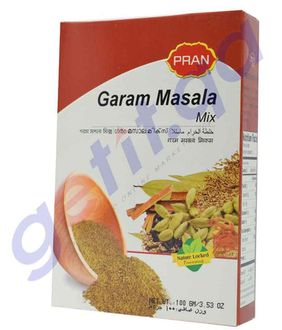SPICE - PRAN GARAM MASALA POWDER - 100 GM