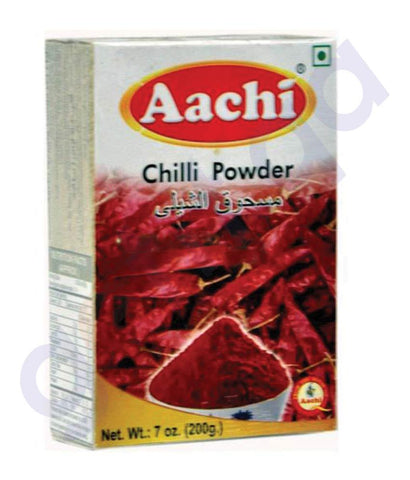 Spices & Herbs - AACHI CHILLY POWDER 200GM
