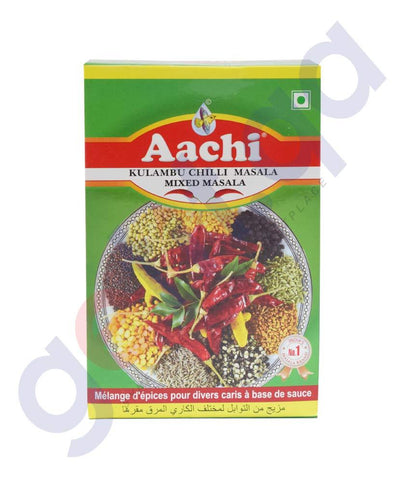 Spices & Herbs - AACHI KULAMBU CHILLI POWDER (MIXED MASALA)