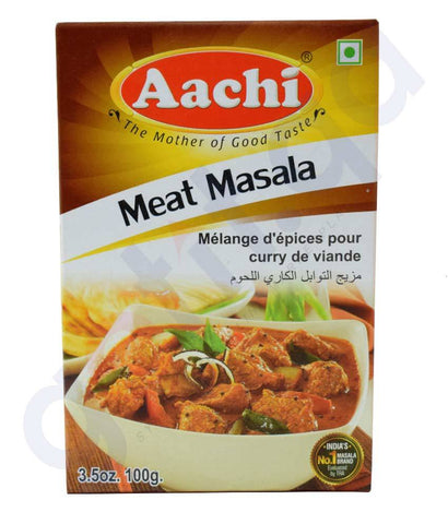 Spices & Herbs - AACHI MEAT MASALA 100GM