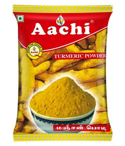 Spices & Herbs - AACHI TURMERIC POWDER 100GM