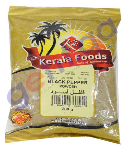 Spices & Herbs - BLACK PEPPER POWDER BY KERALA FOODS