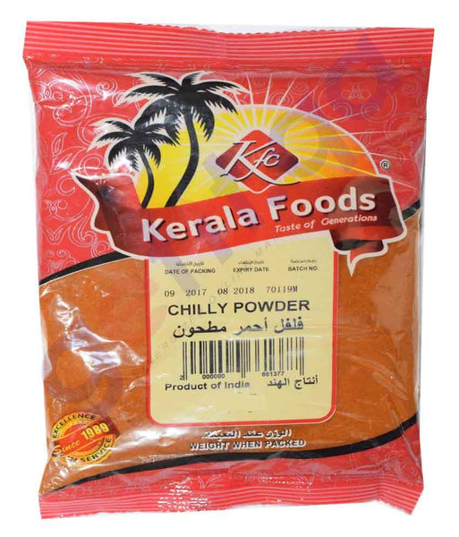 Spices & Herbs - CHILLY POWDER BY KERALA FOODS