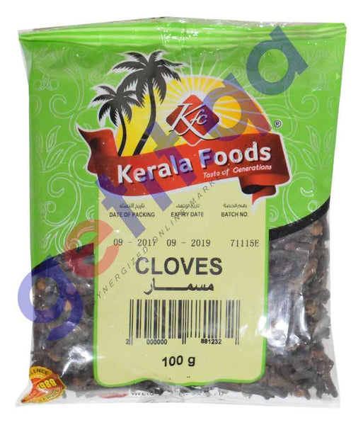 Spices & Herbs - CLOVES BY KERALA FOODS