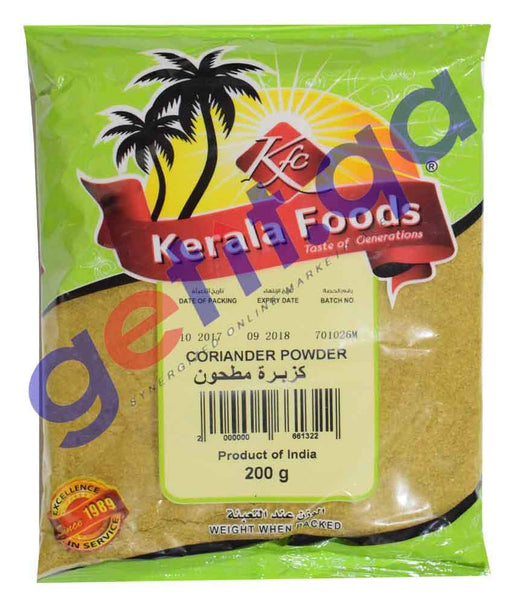 Spices & Herbs - CORIANDER POWDER BY KERALA FOODS
