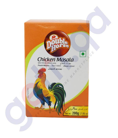 Spices & Herbs - DOUBLE HORSE CHICKEN MASALA - 200GM