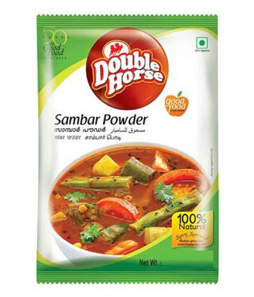 Spices & Herbs - DOUBLE HORSE SAMBAR POWDER - 200GM