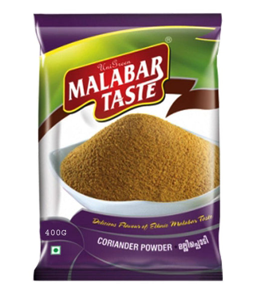 Spices & Herbs - MALABAR TASTE CORIANDER POWDER 400 GM