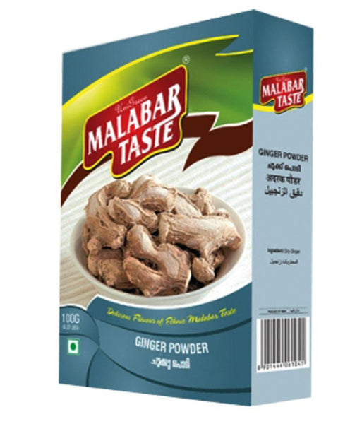 Spices & Herbs - MALABAR TASTE DRY GINGER POWDER 100GM