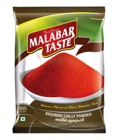 Spices & Herbs - MALABAR TASTE KASHMIRI CHILLY POWDER 200GM