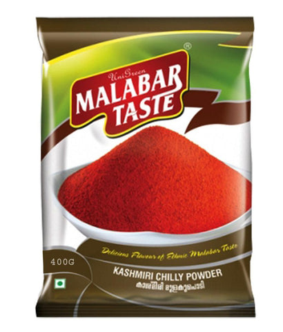 Spices & Herbs - MALABAR TASTE KASHMIRI CHILLY POWDER 400GM