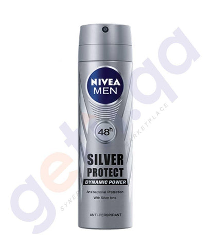 SPRAY - NIVEA 150ML MEN SILVER PROTECT DEODORANT (82959)