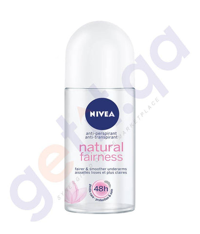 SPRAY - NIVEA 50ML DEODORANT NATURAL FAIRNESS