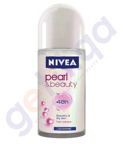 SPRAY - NIVEA 50ML PEARL & BEAUTY DEODORANT (83735)