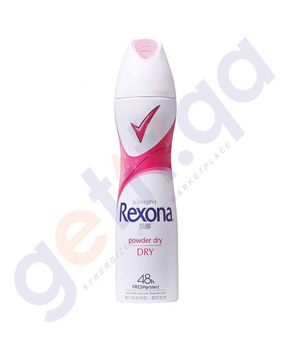 SPRAY - REXONA 150ML WOMEN ANTIPERSPIRANT POWDER DRY DEODORANT