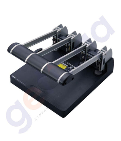STAPLER REMOVERS & PUNCH - CARL 4 HOLE HEAVY DUTY PUNCH 145SHEET - CL-P124N