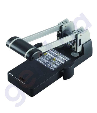 STAPLER REMOVERS & PUNCH - CARL HEAVY DUTY PUNCH 150 SHEET - CL-P122N-BK