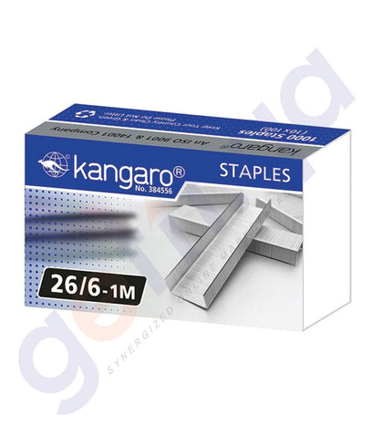 STAPLER REMOVERS & PUNCH - STAPLE 26/6-1M BY KANGARO
