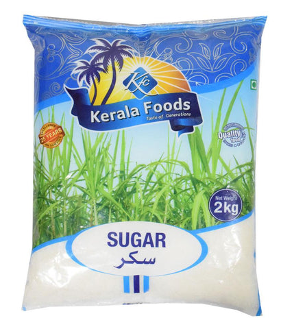 Buy Sugar by Kerala Foods 2kg at Best Price Online in Doha Qatar