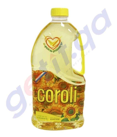 SUNFLOWER OIL - Coroli Sunflower Oil - 1.8Ltr