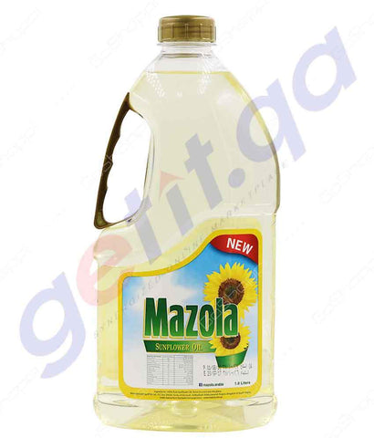 SUNFLOWER OIL - Mazola Sun Flower Oil - 1.8ltr