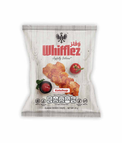 Request Quote Whifflez Classic Chips Ketchup 20g Doha Qatar