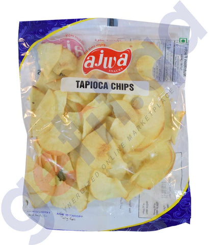 Buy Ajwa Tapioca Chips 125gm Online in Doha Qatar